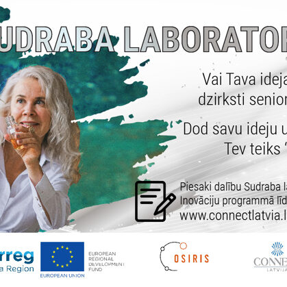 Sudraba inovāciju programmas plakāts